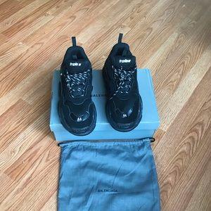 Balenciaga Shoes - Balenciaga Triple S Black